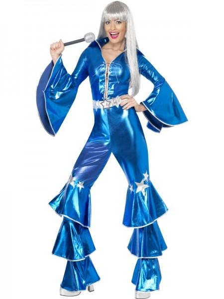 1970`er Dancing Dream Kostüm, blau