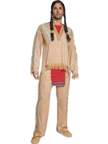 Kostüm Indianer, Grösse M