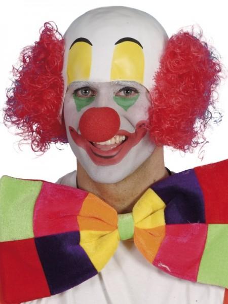 Clown Perücke mit Glatze