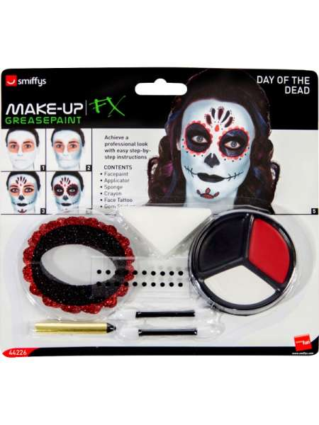 Day of the Dead Make Up Set