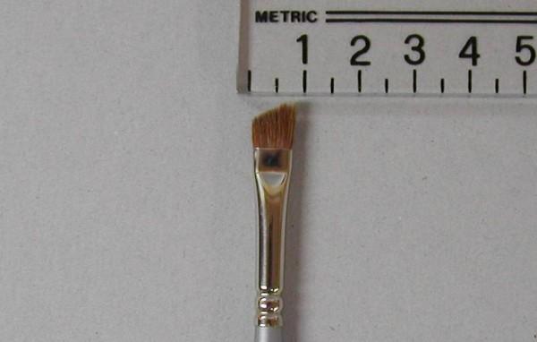Kryolan Schrägpinsel, pure sable, Nr. 10