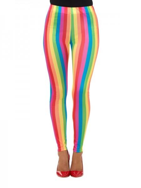 Leggings in Regenbogenfarben