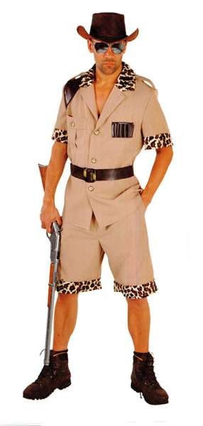 Kostüm Safari Mann