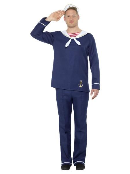 Matrose Kostüm, marineblau