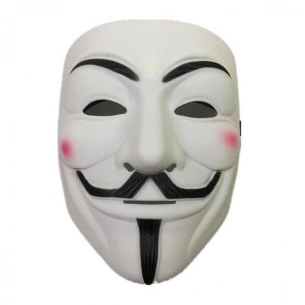 Maske V weiss