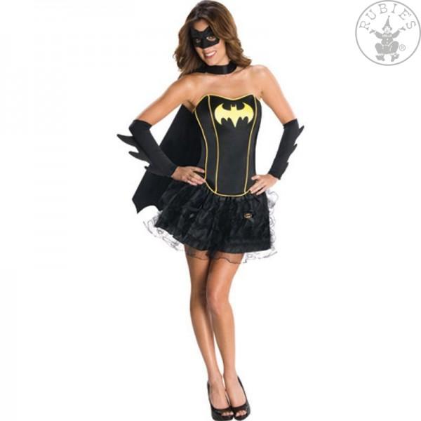 Batgirl Corset Dress Kostüm