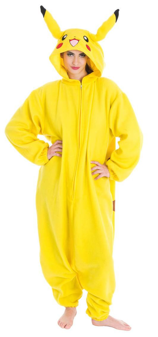 pikachu kost m einheitsgr sse superhelden kost me f r erwachsene kost me atop ag. Black Bedroom Furniture Sets. Home Design Ideas