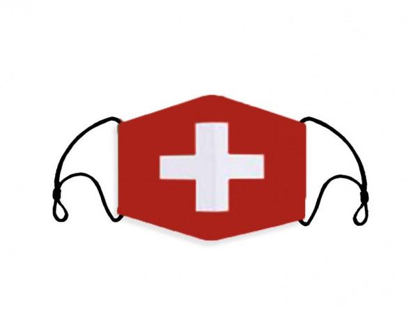 Stoffmaske Schweiz mit Filter