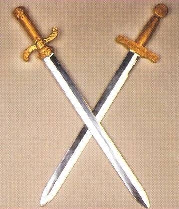 Silberschwert, ca. 64 cm lang