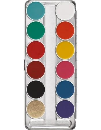 Kryolan Aquacolor 12er Palette FP