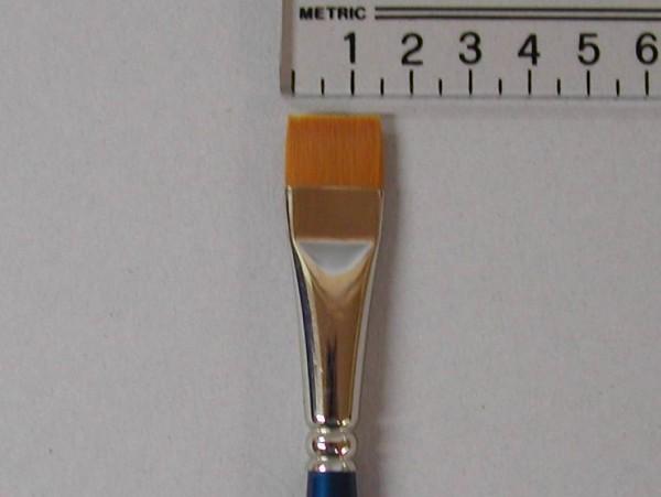 Kryolan Schminkpinsel, Torey-Faser, breit, Nr. 17