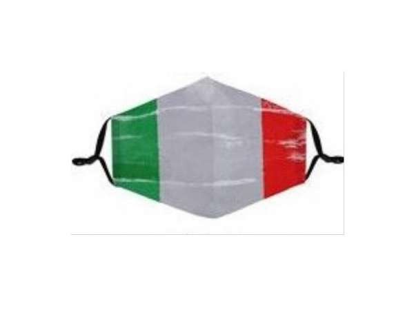 Stoffmaske Italien used look, mit Filter