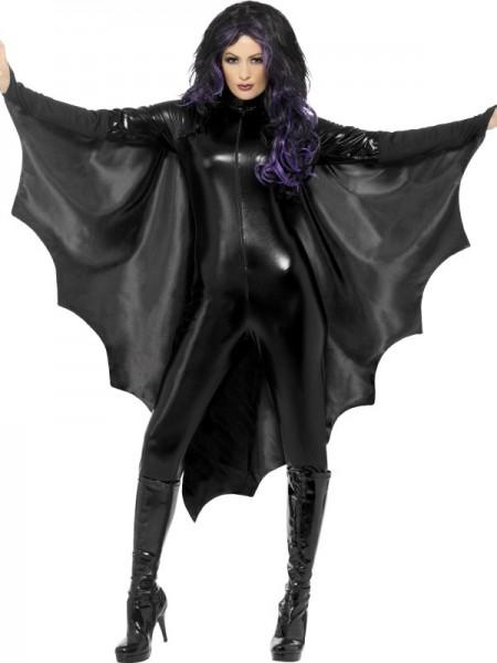 Vampir Fledermaus Flügel schwarz