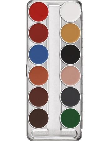Kryolan Aquacolor 12er Palette B