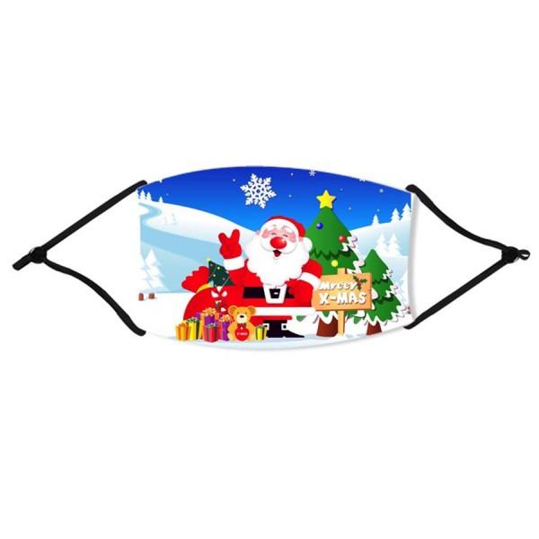 Stoffmaske Happy Nikolaus, mit Filter