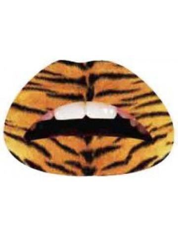 Lips Sticker Motiv Raubkatze