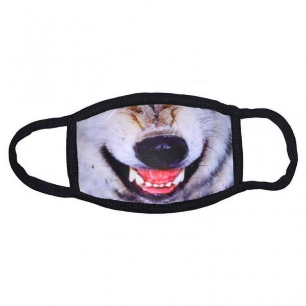 Stoffmaske Wolf ohne Filter