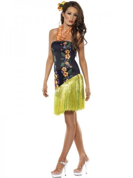 Hawaii-Kleid mit Blumen-Neckholder | atop ag