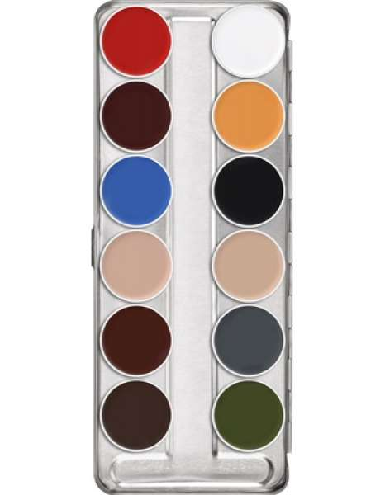 Kryolan Supracolor 12er Palette B