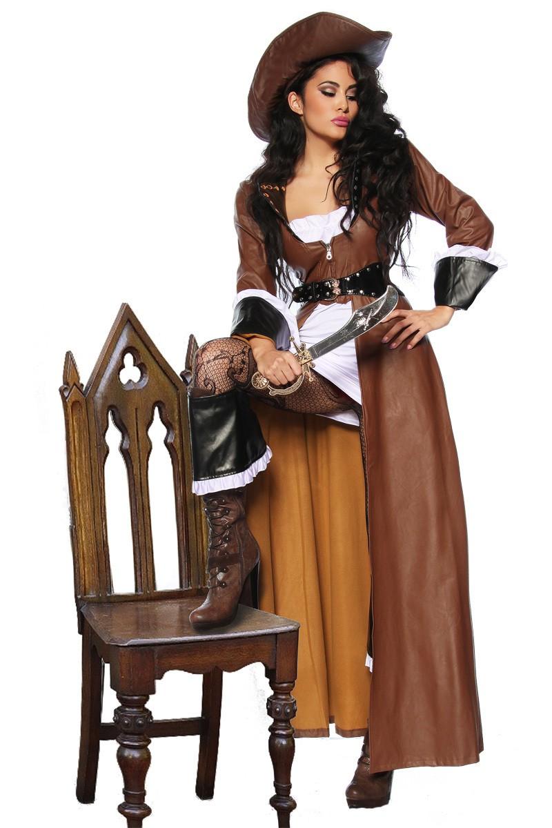Piratenbraut Kostum