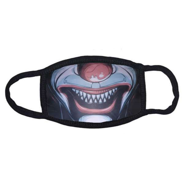 Stoffmaske Dämon ohne Filter