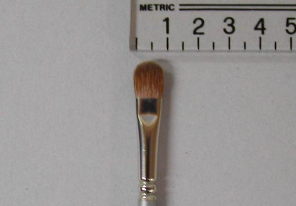 Kryolan Katzenzungenpinsel, pure sable, Nr. 12