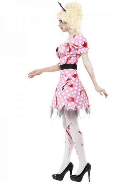 Zombiemaus Damenkostüm pink