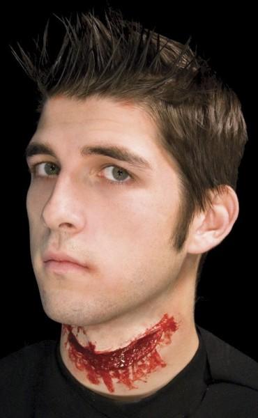 Gummiteil aufgeschnittener Hals