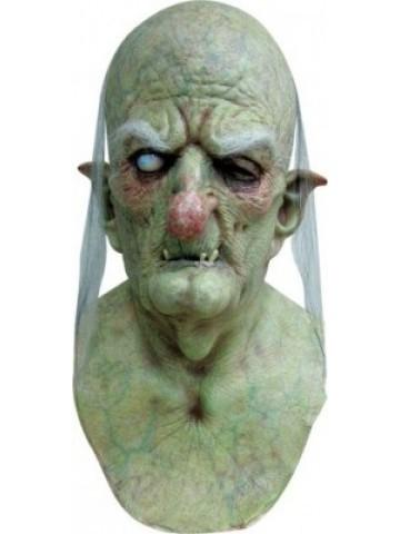 Horrormaske grüner Greis