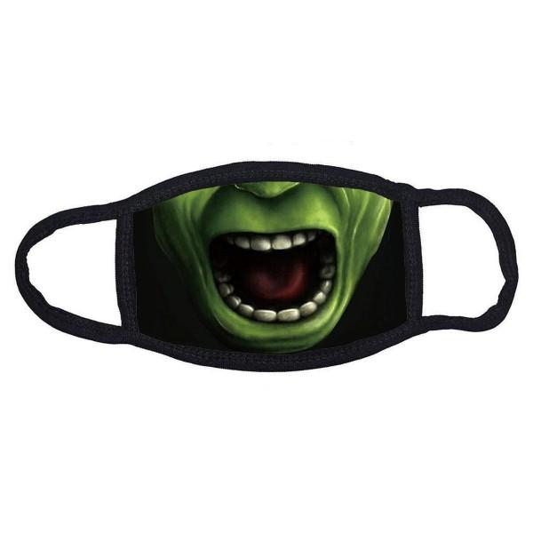 Stoffmaske Grünes Monster ohne Filter
