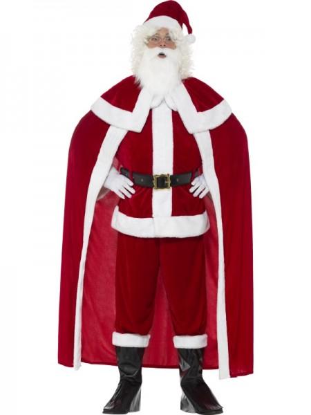 Deluxe Weihnachtsmann Kostüm