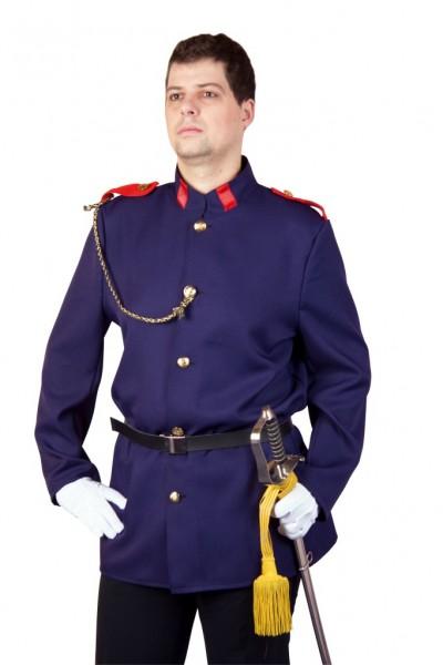 Kostüm Uniformjacke mit Gürtel