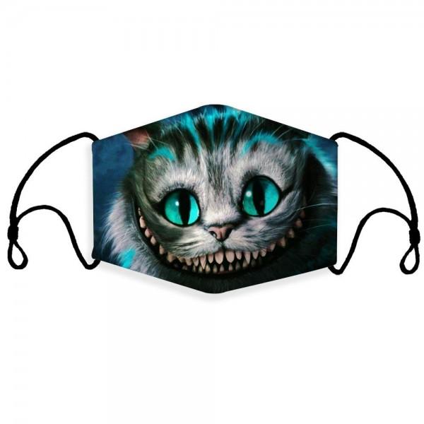 Stoffmaske Crazy Cat mit Filter