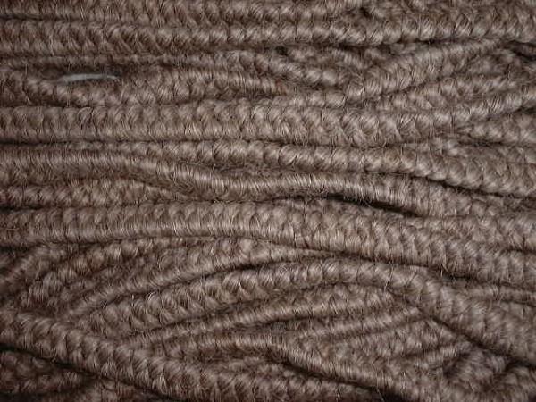 Wollkrepp blondgrau