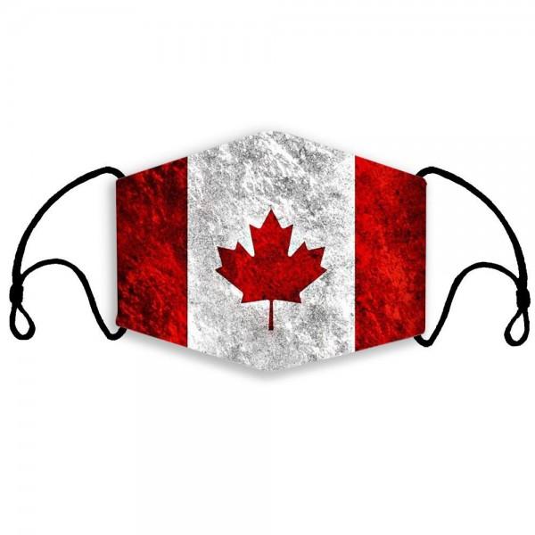 Stoffmaske Kanada used look, mit Filter