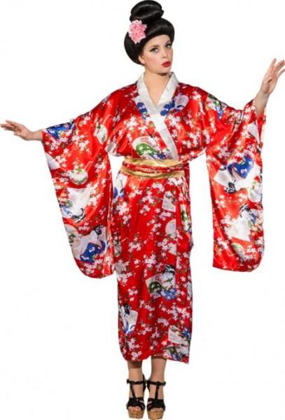 Kimono rot, Einheitsgrösse
