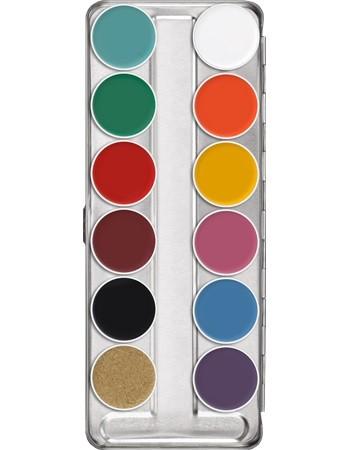 Kryolan Supracolor 12er Palette FP