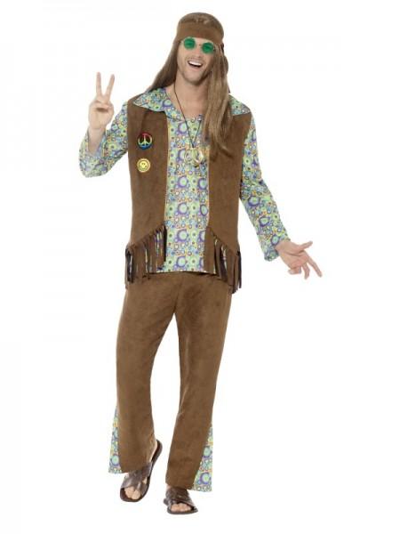 60er Jahre Hippie Guy Kostüm