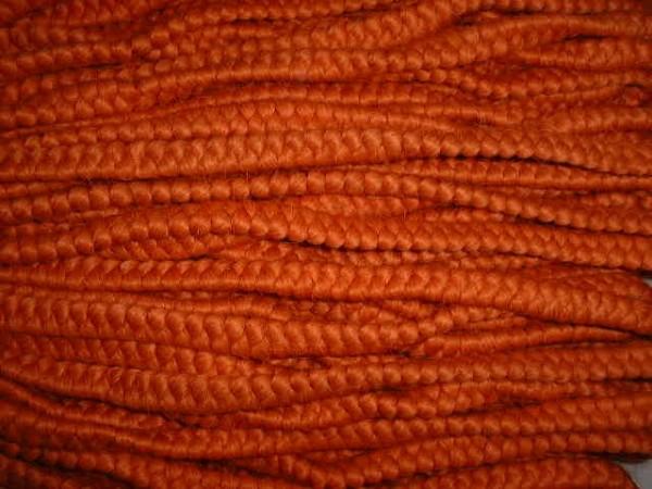 Wollkrepp orange